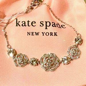 New Kate Spade crystal rose bracelet